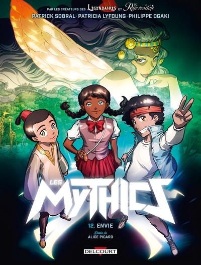 Couverture de Les mythics -12- Envie