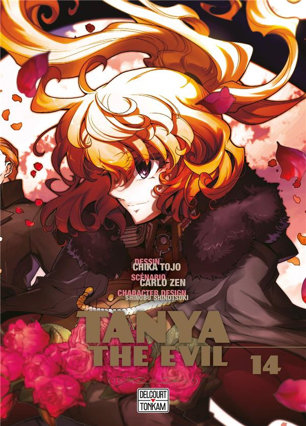 Couverture de Tanya The Evil -14- Tome 14