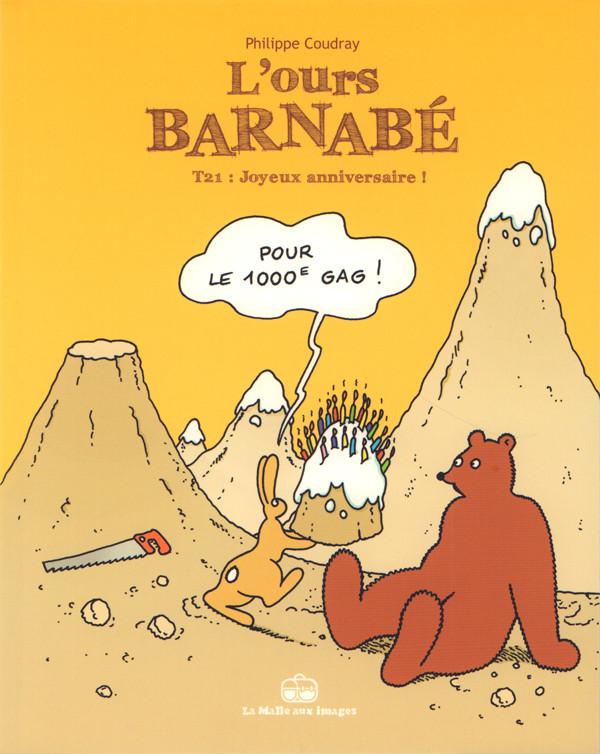 Couverture de L'ours Barnabé (Boîte à bulles) -21- Joyeux anniversaire