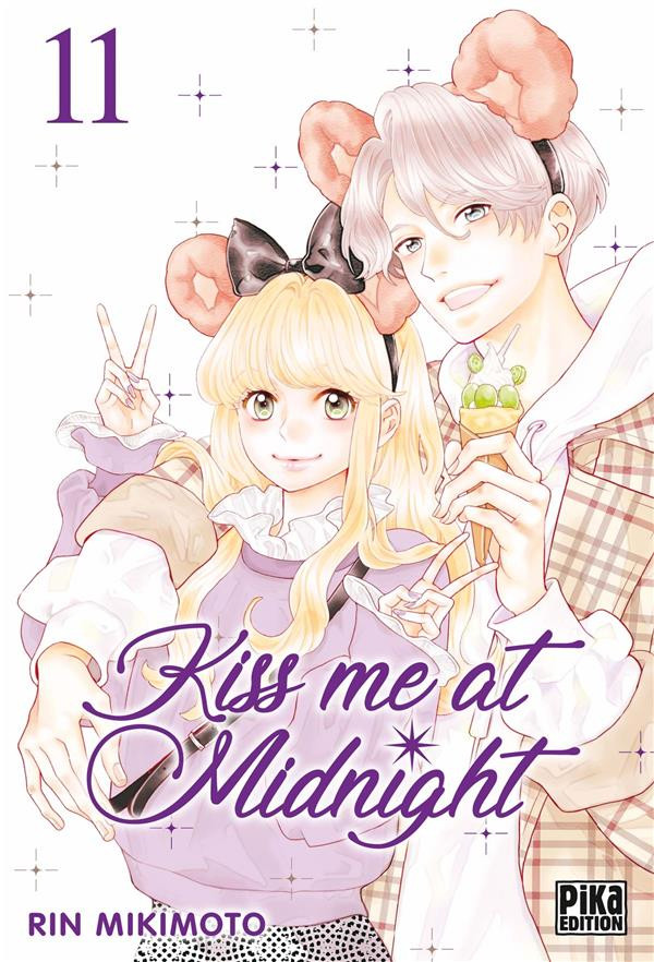 Couverture de Kiss me at Midnight -11- Tome 11
