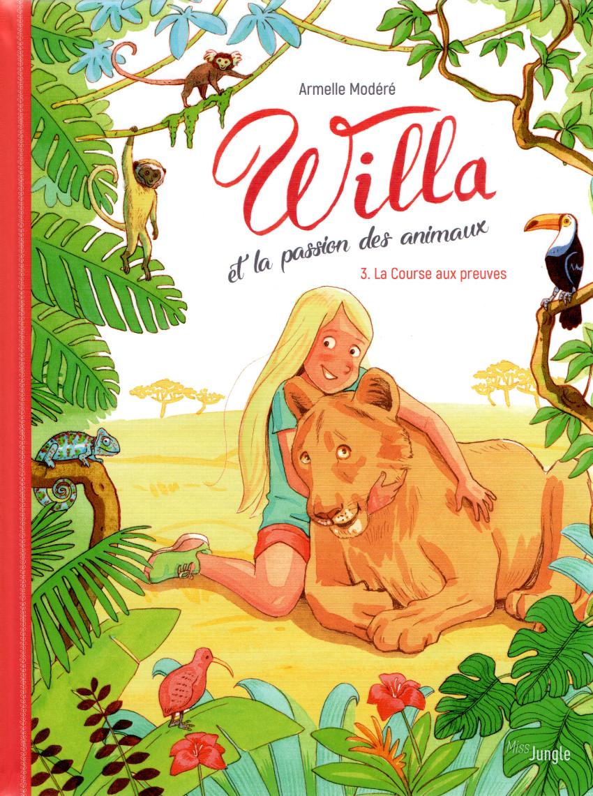 Couverture de Willa et la passion des animaux -3- Tome 3