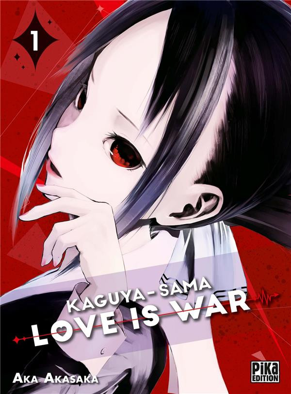 Couverture de Kaguya-sama : Love is War -1- Tome 1