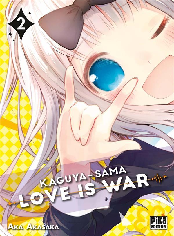 Couverture de Kaguya-sama : Love is War -2- Tome 2