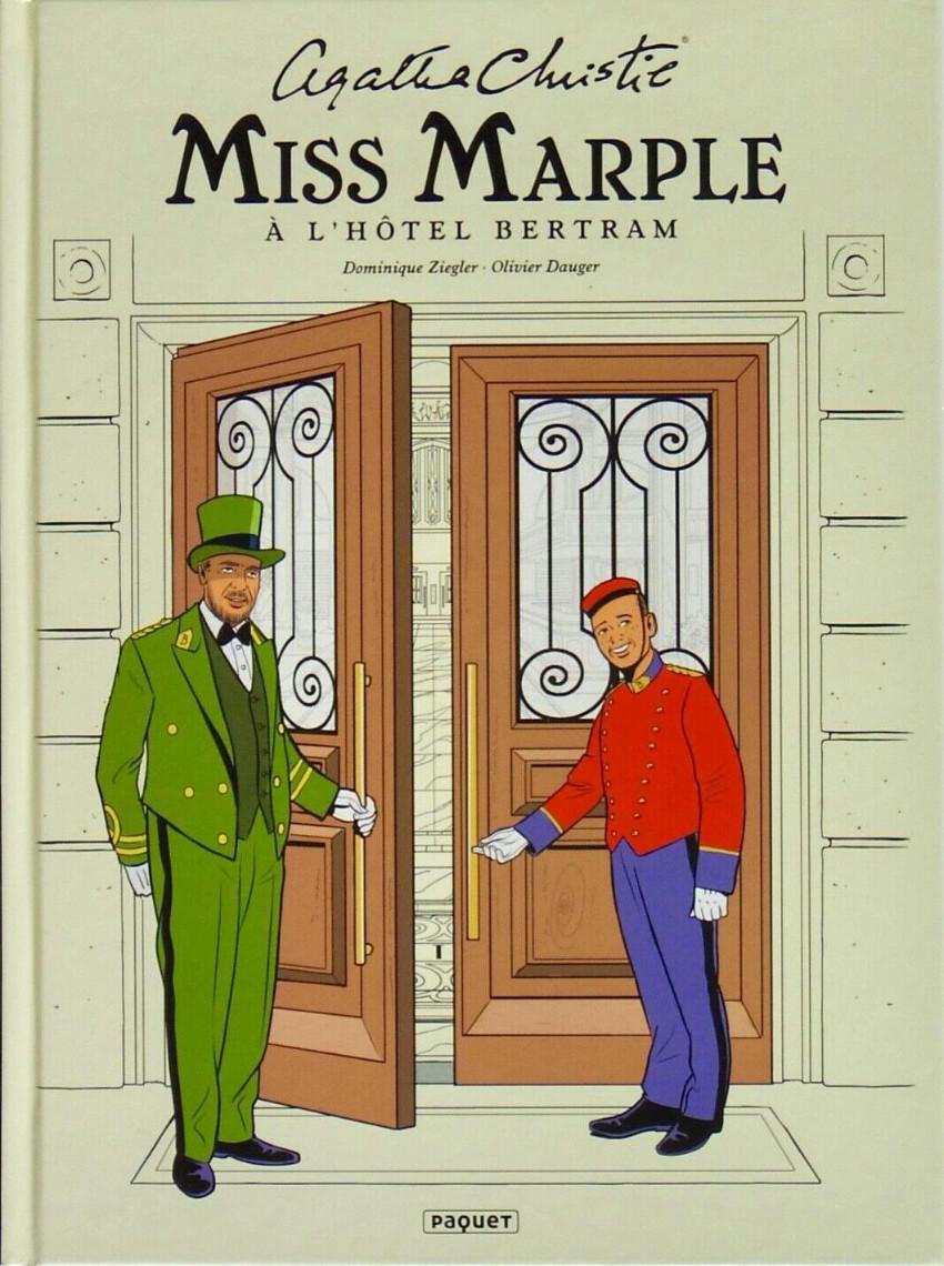 Couverture de Miss Marple -2- Miss Marple à l'hôtel Bertram