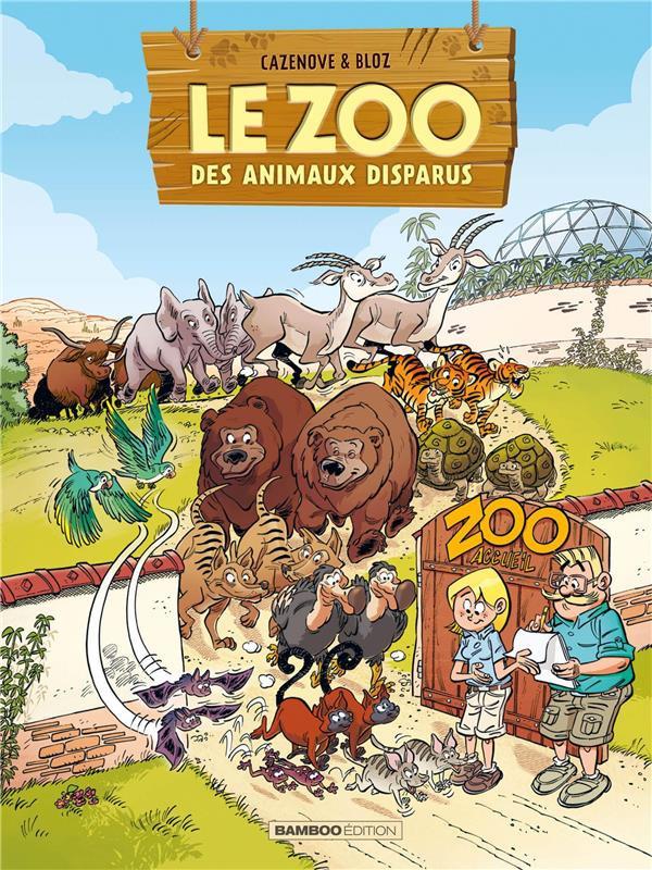 Couverture de Le zoo des animaux disparus -2- Tome 2