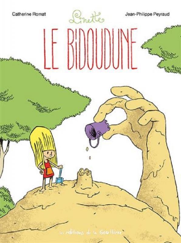 Couverture de Linette (Romat - Peyraud) -4- Le bidoudune