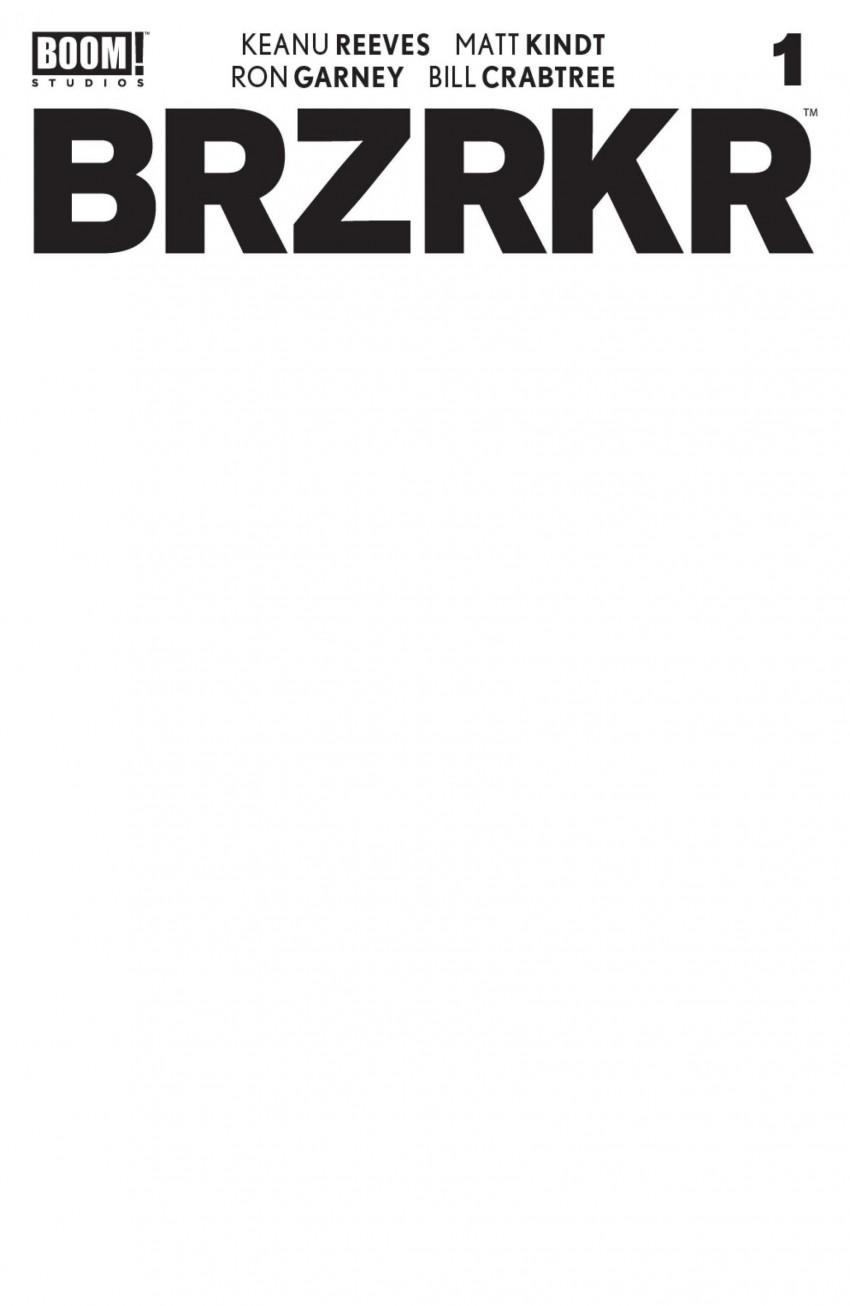 Couverture de BRZRKR (Boom! Studios - 2021) -1C- Issue #1