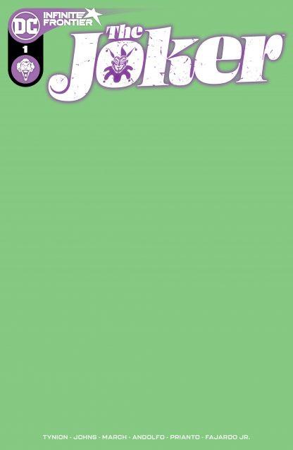 Couverture de The Joker (DC Comics - 2021) -1B- Issue #1