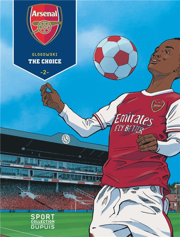 Couverture de Arsenal -2- The choice
