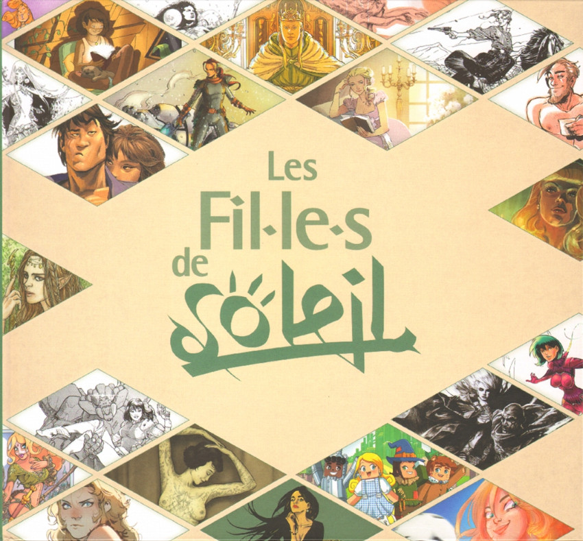 Couverture de Les filles de Soleil -25- Les Fil-le-s de Soleil