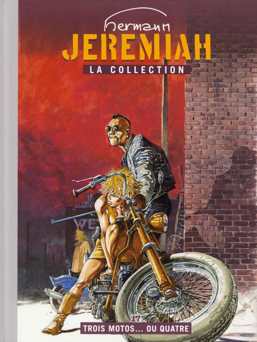 Couverture de Jeremiah - La Collection (Hachette) -17- Trois motos... ou quatre
