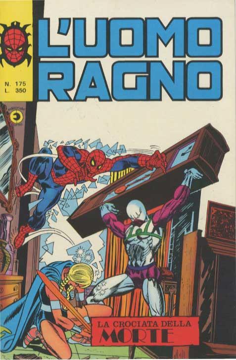 Couverture de L'uomo Ragno V1 (Editoriale Corno - 1970)  -175- La Crociata della Morte