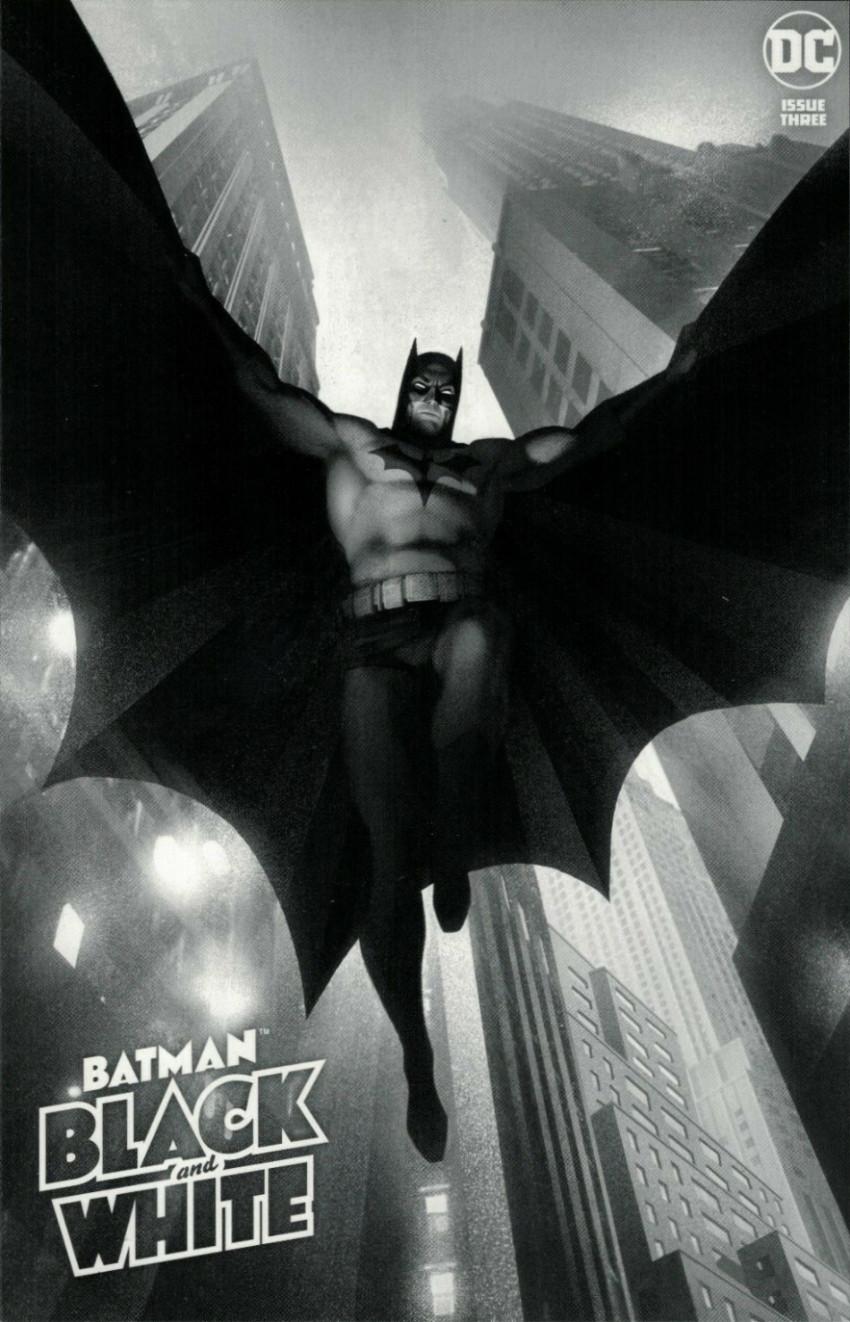 Couverture de Batman Black and White (DC Comics - 2021) -3- Issue # 3
