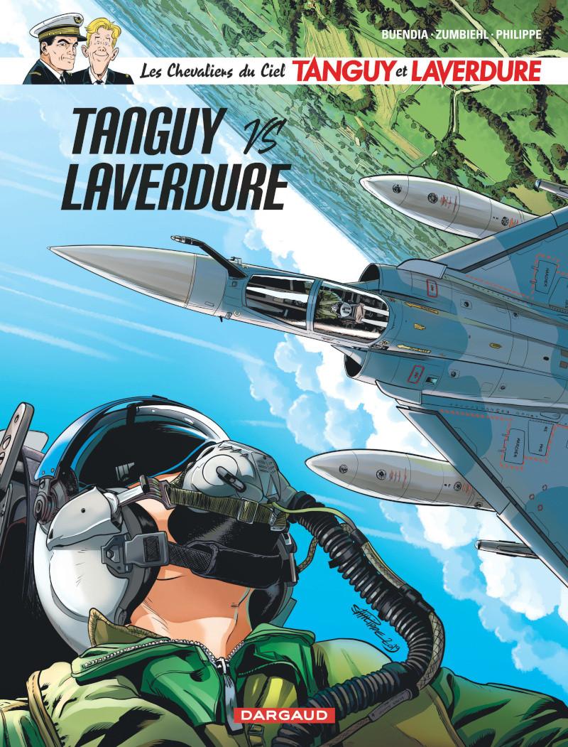 Couverture de Tanguy et Laverdure -34- Tanguy vs Laverdure