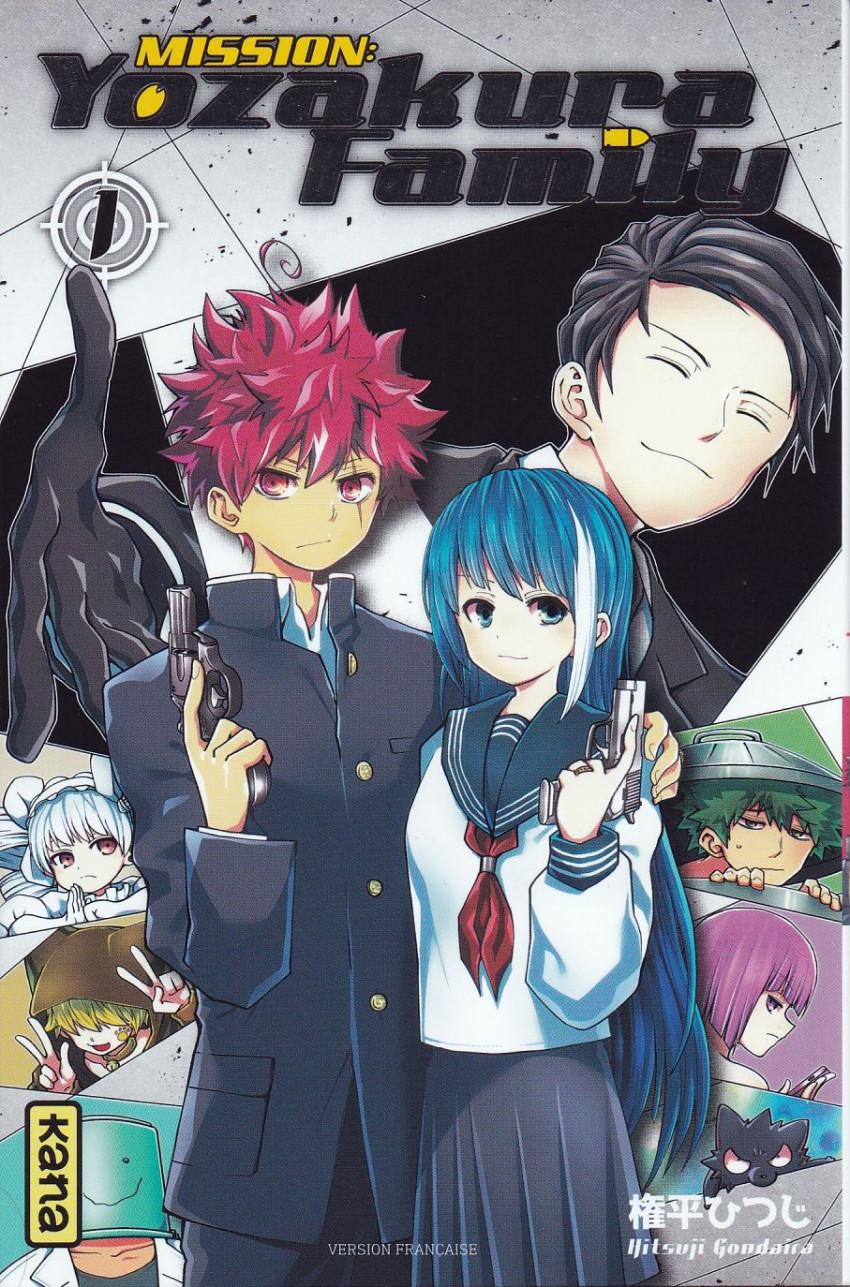 Couverture de Mission : Yozakura Family -1- Tome1