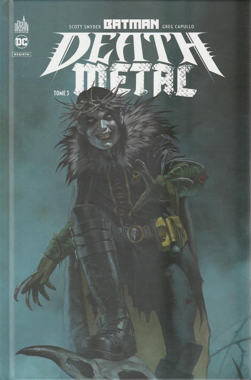 Couverture de Batman : Death Metal -3- Tome 3