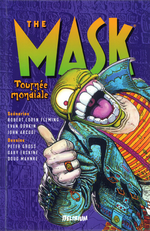 Couverture de Mask (The) -3- Tournée mondiale