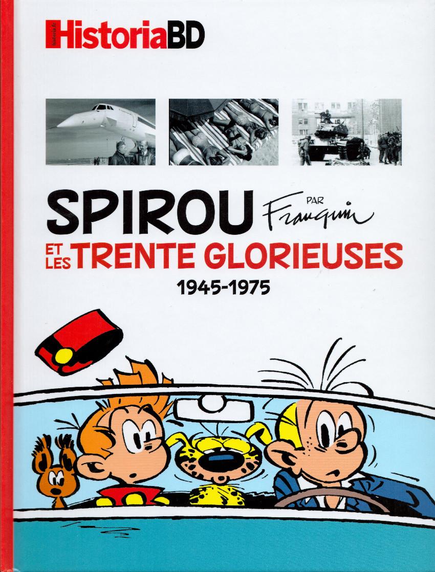 Couverture de Spirou et Fantasio -2- (Divers) - Spirou et les Trente Glorieuses 1945-1975