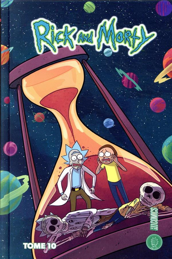 Couverture de Rick and Morty -10- Tome 10