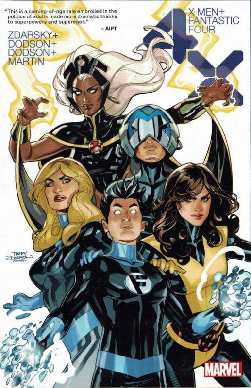 Couverture de X-Men / Fantastic Four -INT01- 4X