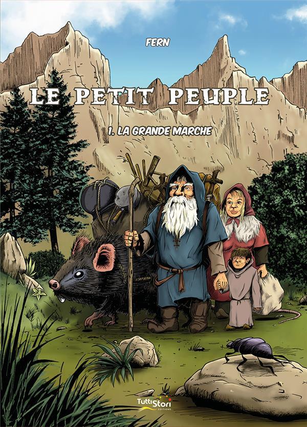 Couverture de Le petit peuple -1- La grande marche