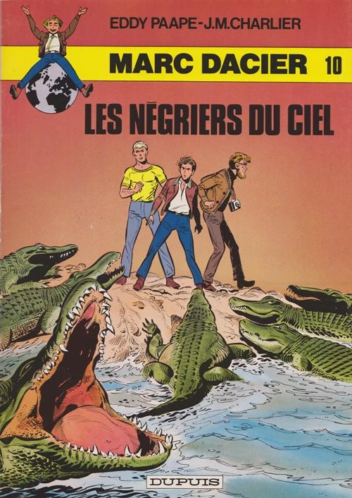 Couverture de Marc Dacier (couleurs) -10a- Les négriers du ciel