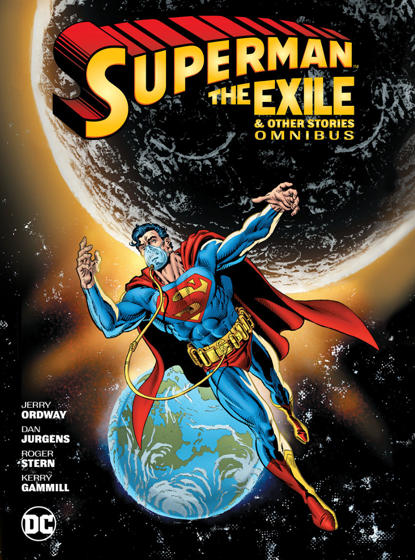 Couverture de Superman (The Adventures of) (1987) -INT- Superman: The Exile and Other Stories Omnibus