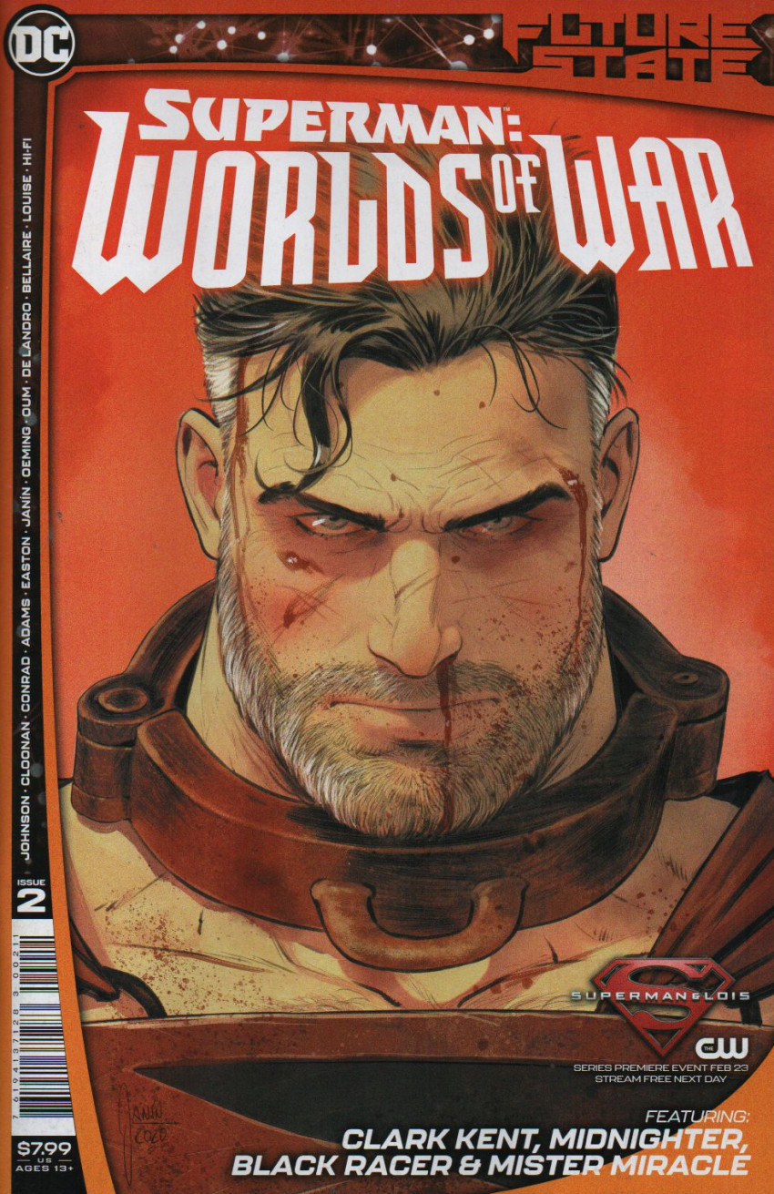 Couverture de Future State: Superman: Worlds of War (DC Comics - 2021) -2- The Many Deaths of Superman