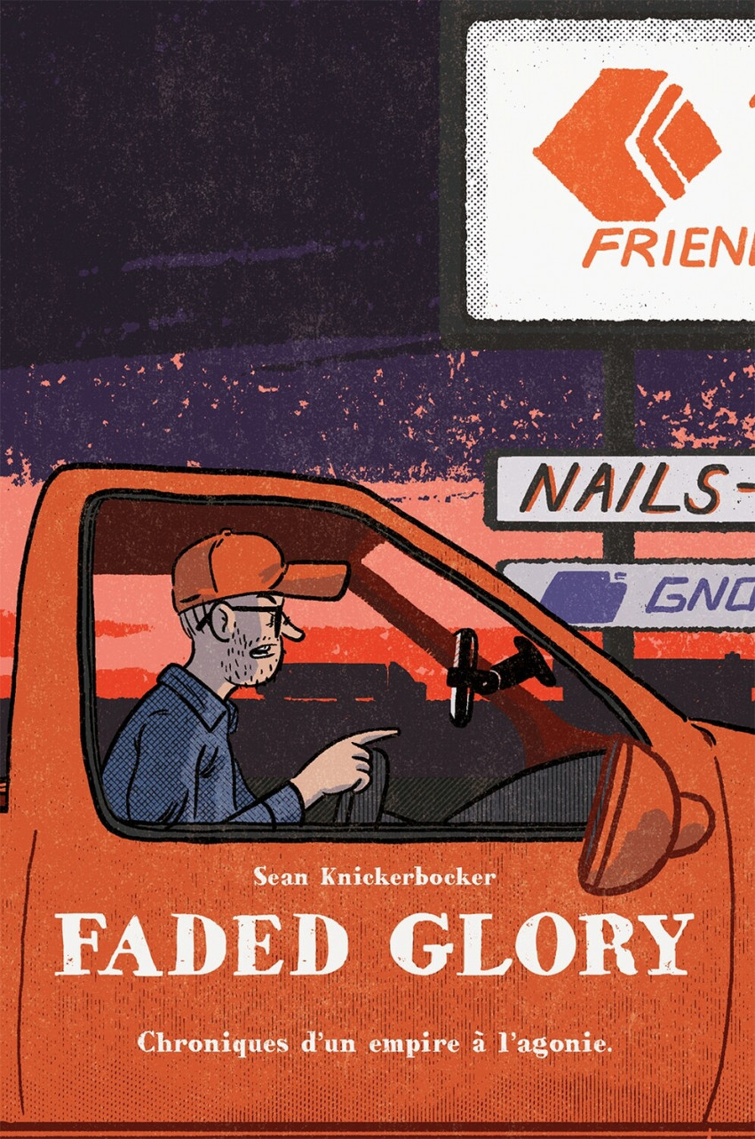 Couverture de Faded Glory - Faded Glory - Chronique d'un empire à l'agonie