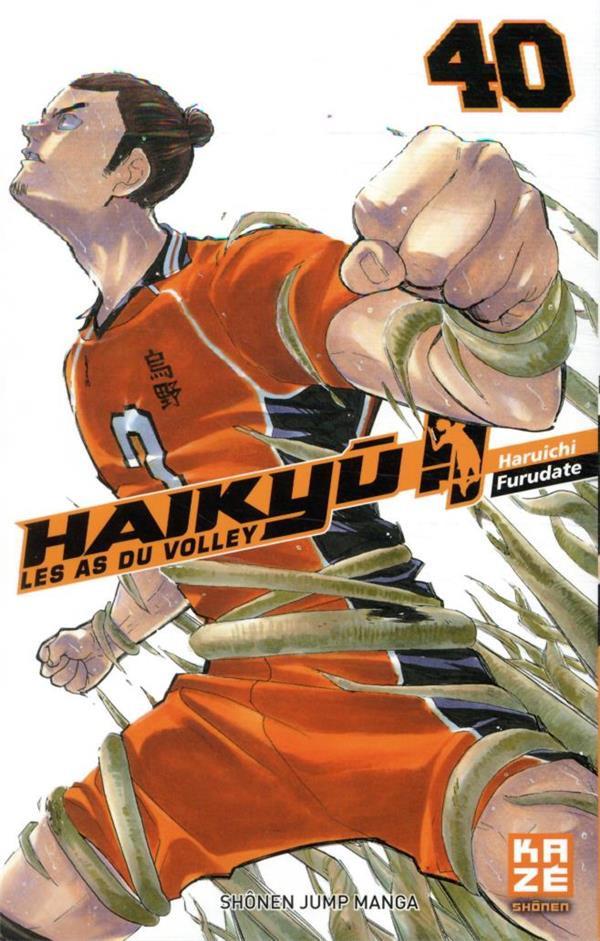 Couverture de Haikyu !! Les As du Volley -40- Affirmation