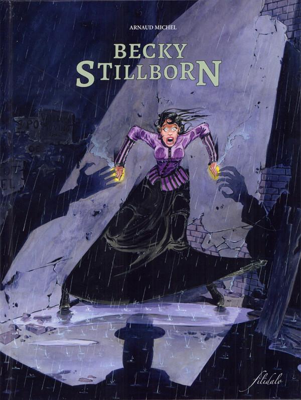 Couverture de Becky Stillborn -1- La mort n'est qu'une ombre