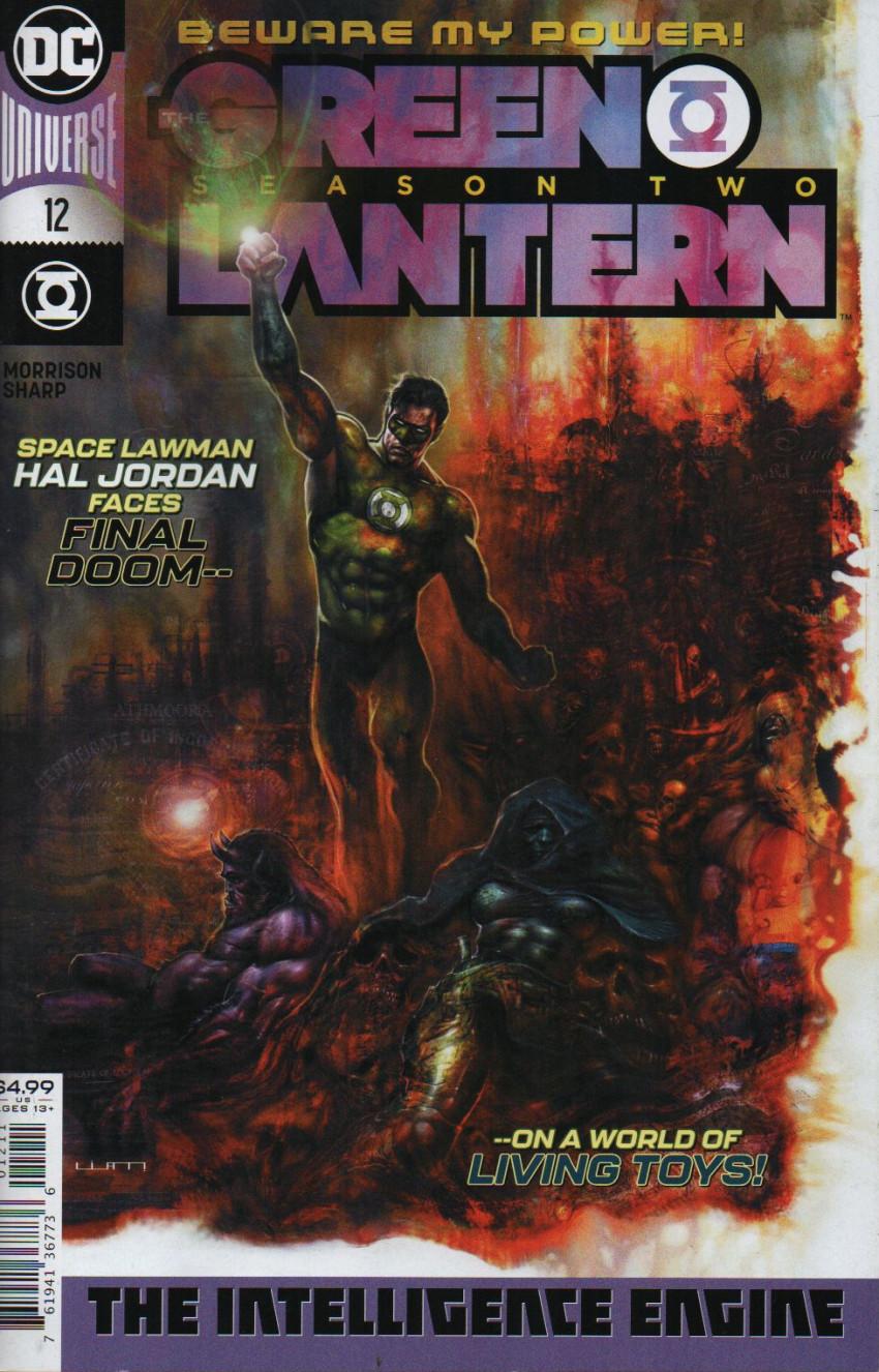 Couverture de Green Lantern - Season Two (The) (DC Comics - 2019) -12- The Intelligence Engine