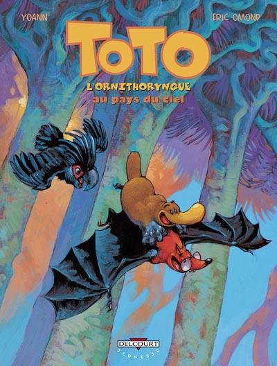 Couverture de Toto l'ornithorynque -6- Toto l'ornithorynque au pays du ciel