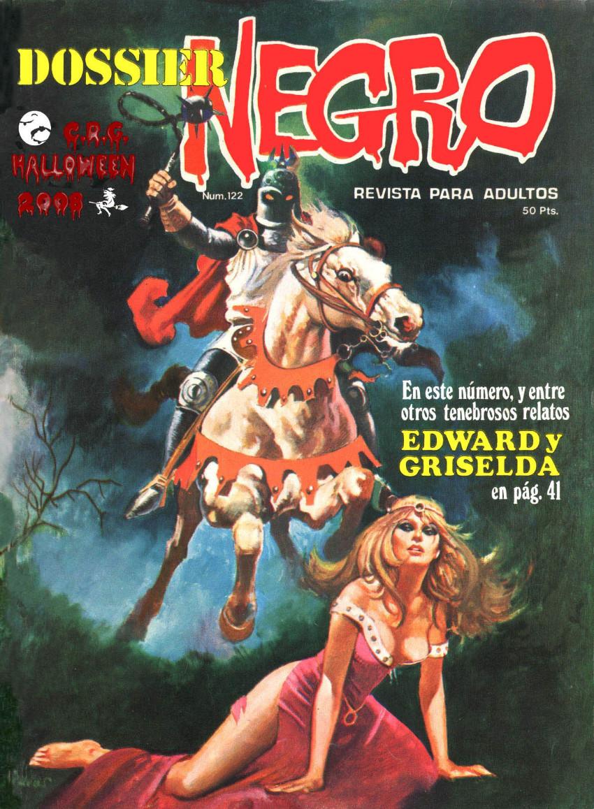 Couverture de Dossier Negro -122- Edward y Griselda