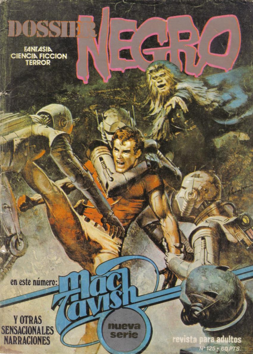 Couverture de Dossier Negro -125- Mac Tavish