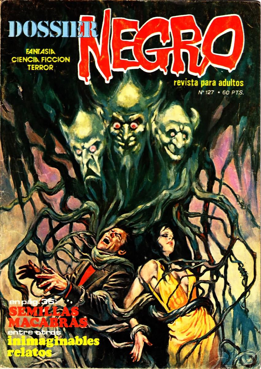 Couverture de Dossier Negro -127- Semillas macabras
