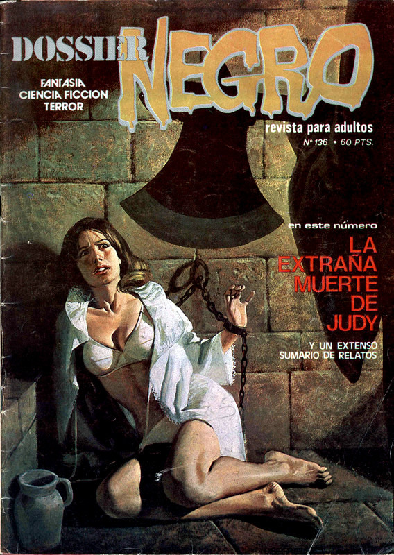 Couverture de Dossier Negro -136- La extraña muerte de Judy