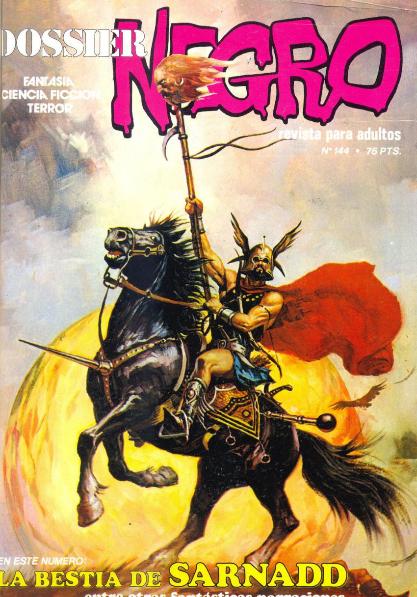 Couverture de Dossier Negro -144- La bestia de Sarnadd