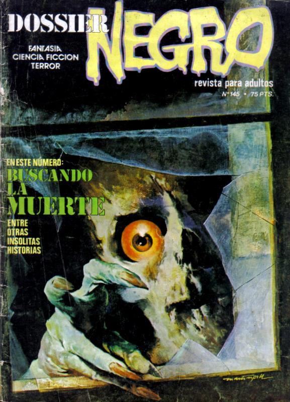 Couverture de Dossier Negro -145- Buscando la muerte