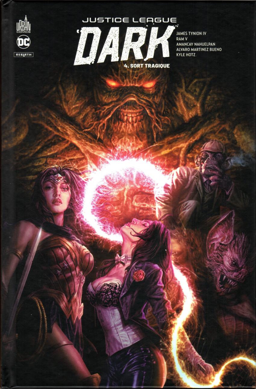 Couverture de Justice League Dark Rebirth -4- sort tragique