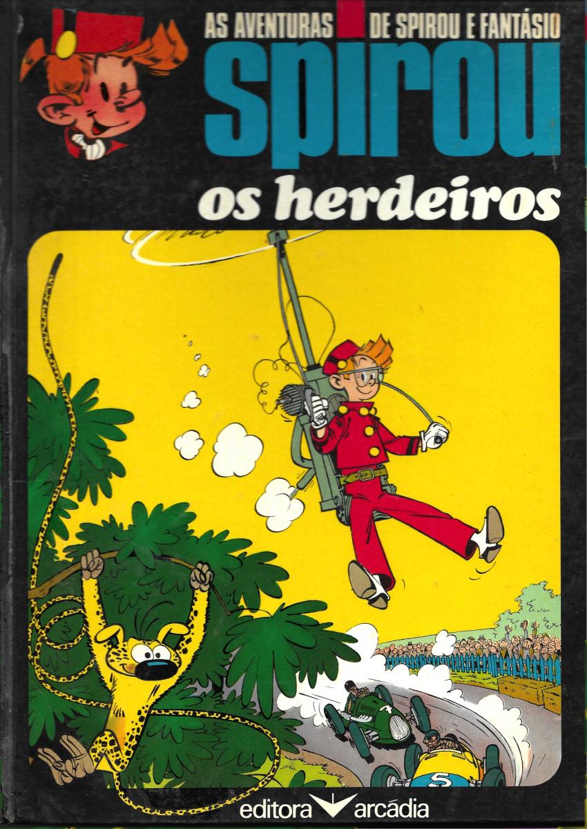 Couverture de Spirou e Fantásio (en portugais) -4- Os herdeiros