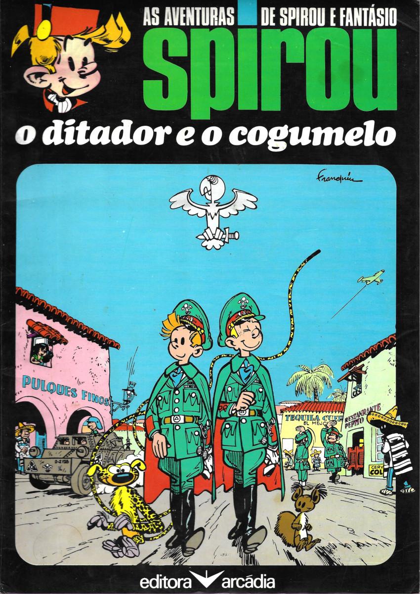 Couverture de Spirou e Fantásio (en portugais) -7- O ditador e o cogumelo