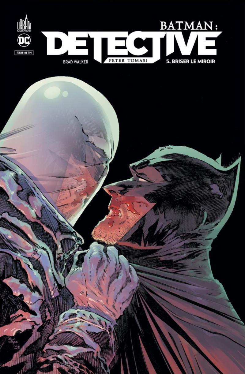 Couverture de Batman : Detective -5- Briser le miroir