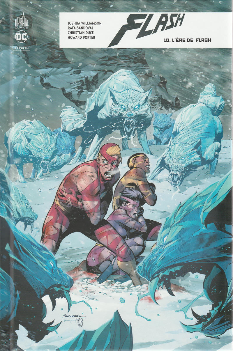 Couverture de Flash Rebirth -10- L'ère de Flash