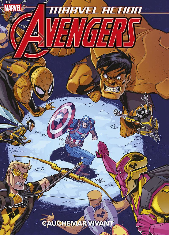 Couverture de Marvel Action : Avengers -4- Tome 4