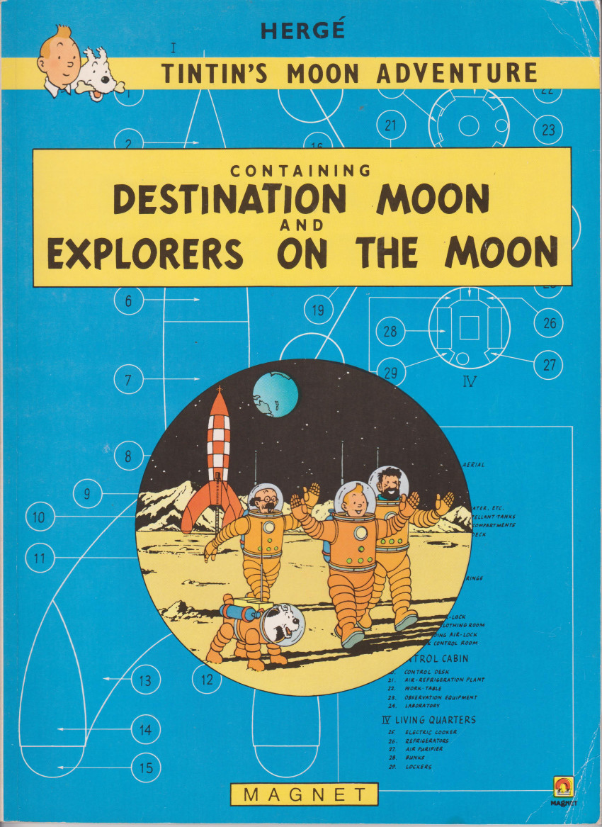 Couverture de Tintin (The Adventures of) - Tintin's moon Adventure