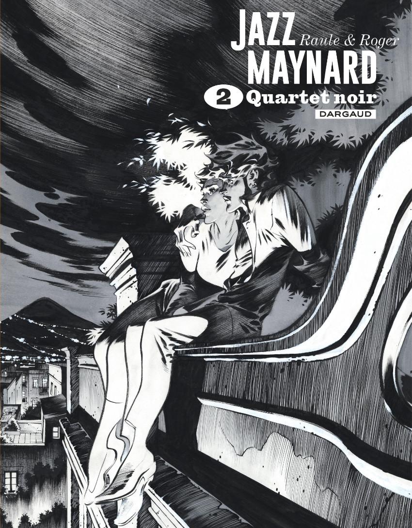 Couverture de Jazz Maynard -INT02- Quartet noir