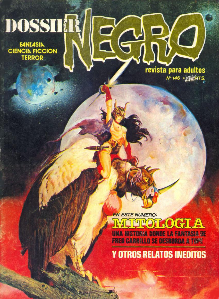Couverture de Dossier Negro -146- Mitología