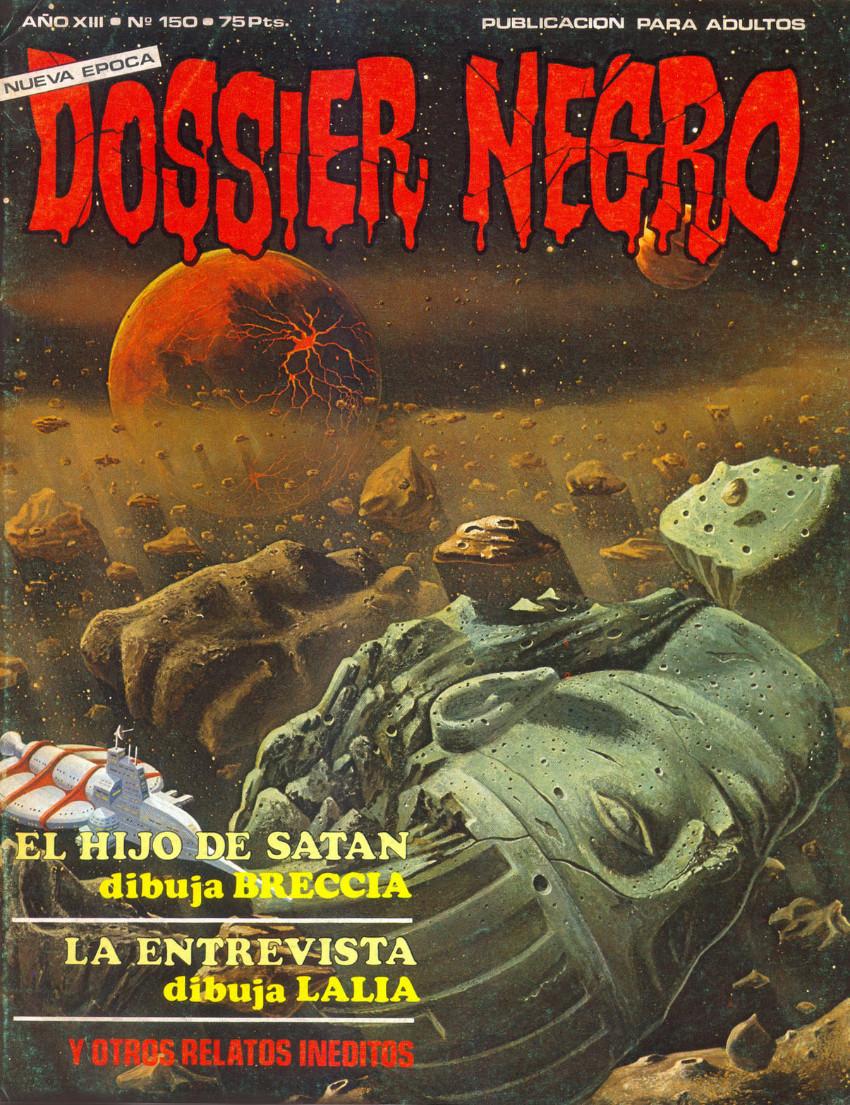 Couverture de Dossier Negro -150- El hijo de Satán