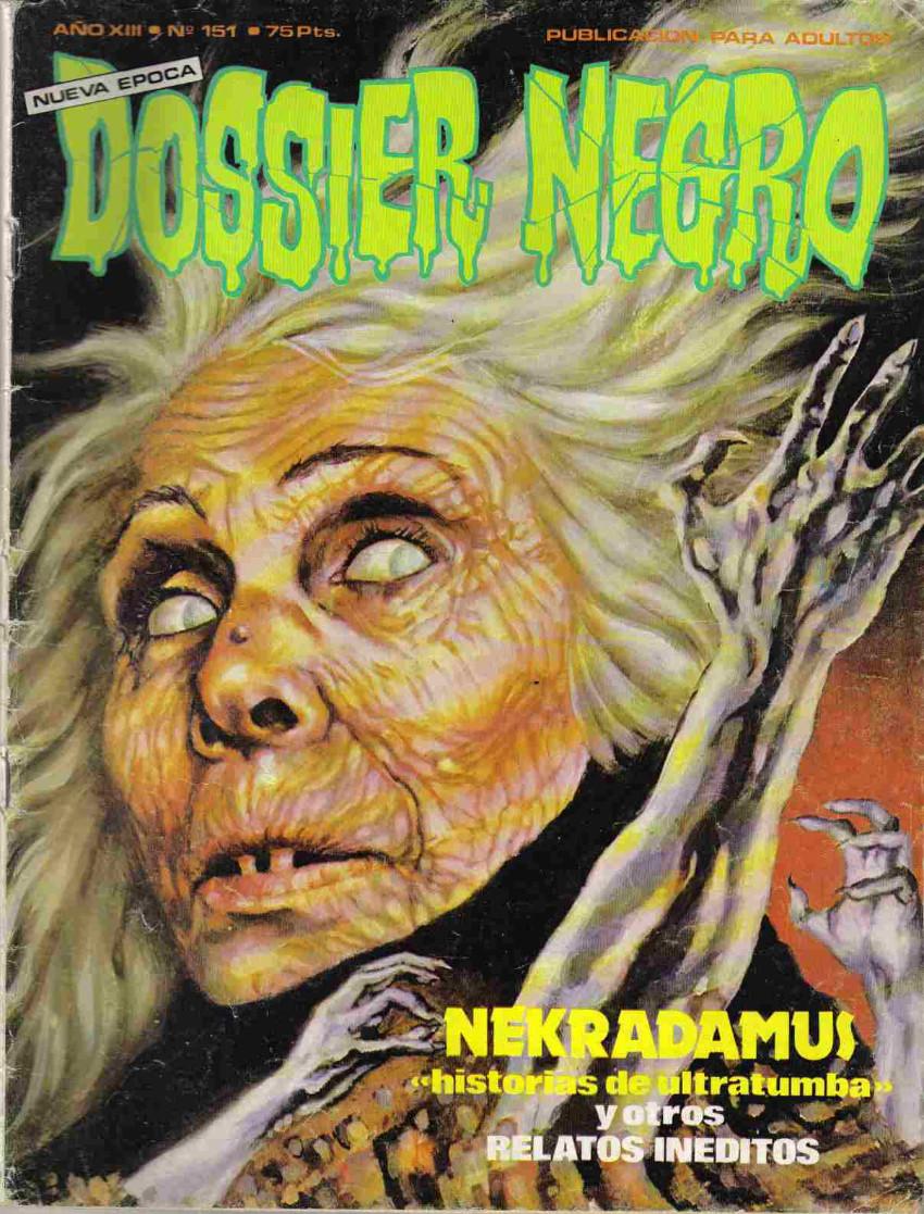 Couverture de Dossier Negro -151- Nekradamus